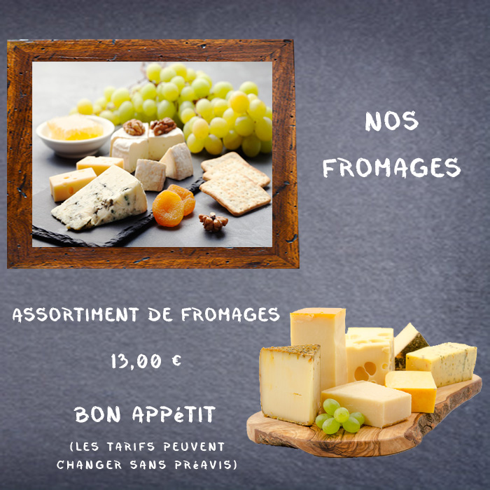 Planche fromages 4